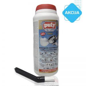 Komplet: detergent za čIščenje kavnih apartatov in ščetka za čIščenje grupe