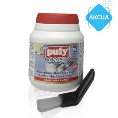 Komplet: detergent za čIščenje kavnih apartatov Puly Caff plus NSF jar 370gr
