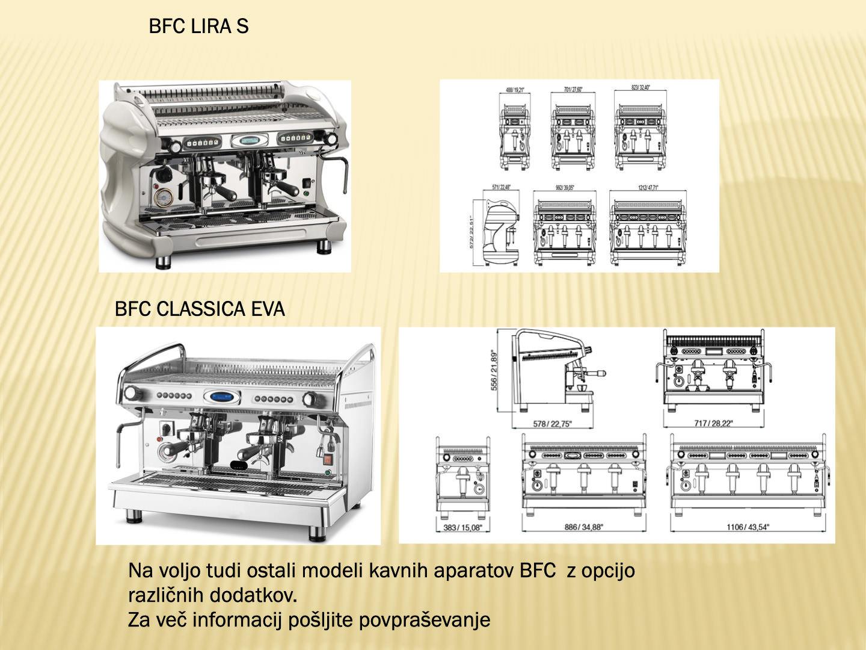 Kavni aparati BFC